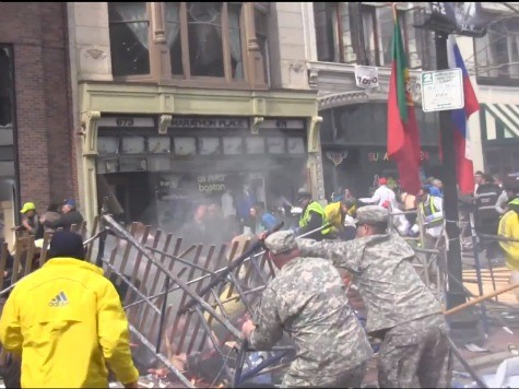 Soldiers Running Marathon in Honor of Fallen Pulled Victims from Debris