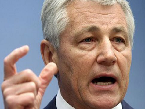 Hagel: Inaction Would Undermine Efforts to Prevent Iran from Getting Nukes