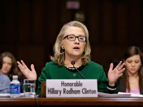 Poll: Clinton Approval Tumbles in Wake of Benghazi