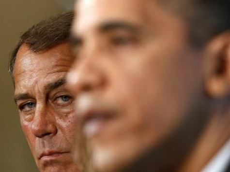 Boehner Vows 'Whale of a Fight' over Debt Ceiling