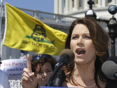 Exclusive–Rep. Bachmann (R-MN): GOP Not Caving, 'This Is A Lot Bigger Than Obamacare'