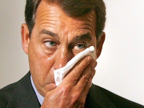 Boehner Teary-Eyed over Taco Bell Foundation Donation to Teens