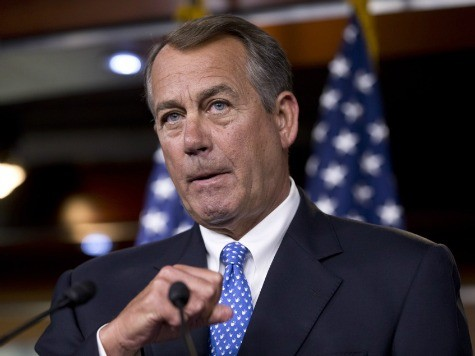 Boehner: No Conference on Senate Immigration Bill