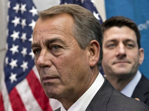 DC Lobbyists Cheer Boehner's War on Tea Party