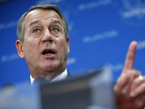 Boehner on Shutdown: 'This Isn't Some Damn Game!'