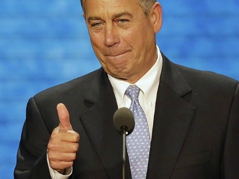 Boehner: 'Hard Time' Distinguishing Establishment GOP from Tea Party