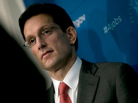 Immigration Official Warns: Eric Cantor's DREAMer Stance Could Mean Perpetual Amnesty for Illegal Alien Youths