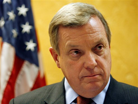 WaPo Fact Checker Gives Dick Durbin's Obamacare Claims Four Pinocchios