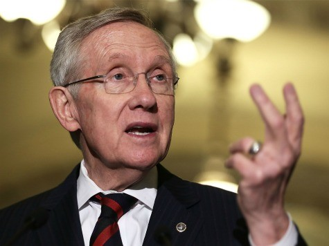 Reid Tries to Kick Debt Fight Past 2014 Elections