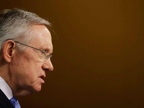 Reid: Tea Party 'Spooked' Boehner from Immigration Reform 'Into Cowering in a Corner'