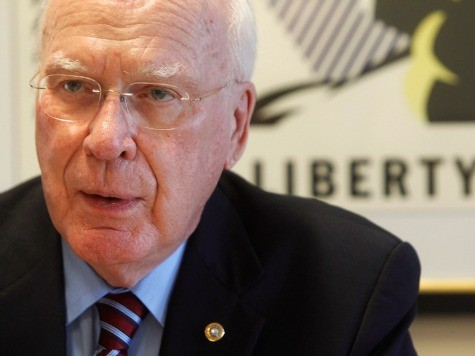 Patrick Leahy Cites Holocaust Victims in Plea to Embrace Unaccompanied Minors