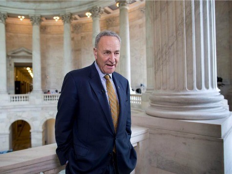 Sen. Chuck Schumer: Amnesty Legislation by 'June or July'