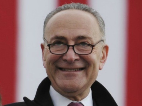 Schumer: 'Illegal Immigration Will Be a Thing of the Past'