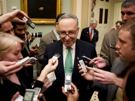 Report: Gay Activists Press Schumer to Include Same-Sex Immigration