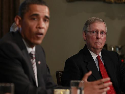 McConnell on Obama Economy Campaign: 'Colossal Waste of Time'