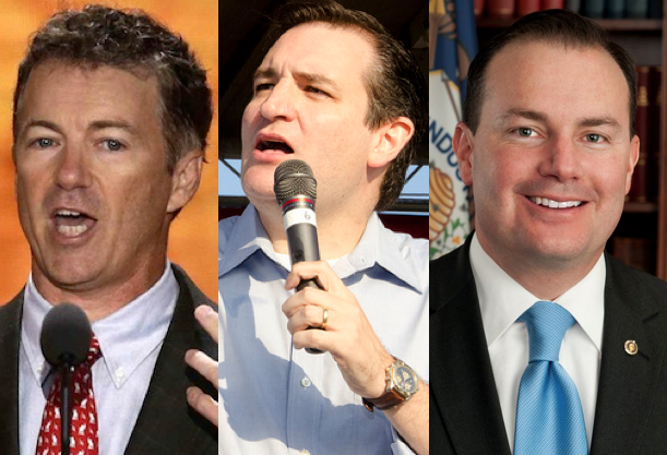 Paul, Cruz, Lee to Block Gun Control Legislation