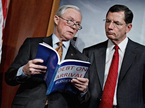 Jeff Sessions: Harry Reid's No-Amendments Strategy Kept Problems in Budget
