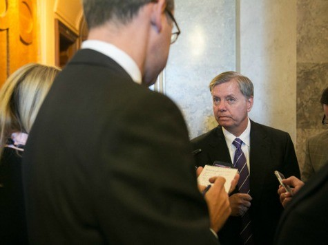Lindsey Graham: 'Best Thing for the Republican Party' to Let Obamacare Proceed
