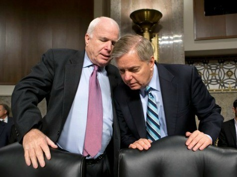 McCain, Graham Helping Osborn in Nebraska GOP Primary