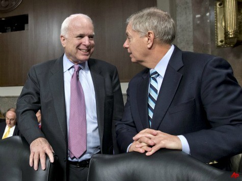 McCain, Graham: Putin, Assad Leading Obama into 'Diplomatic Blind Alley'