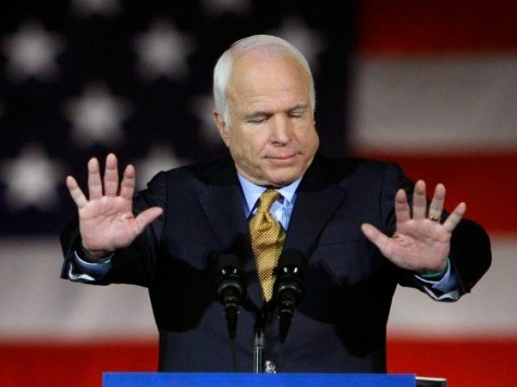 McCain Concedes Immigration Reform Bill Won't Gain GOP 'A Single Hispanic Voter'
