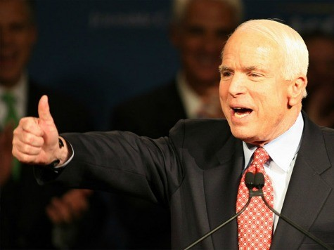 McCain: Arizona GOP Censure May Spur Sixth Run