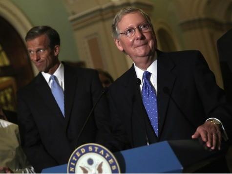 Senate GOP Leaders: Shutdown May Last for Weeks