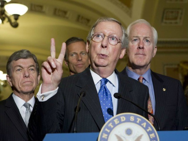 Mitch McConnell Attacks Conservative Group for Endorsing Primary Opponent