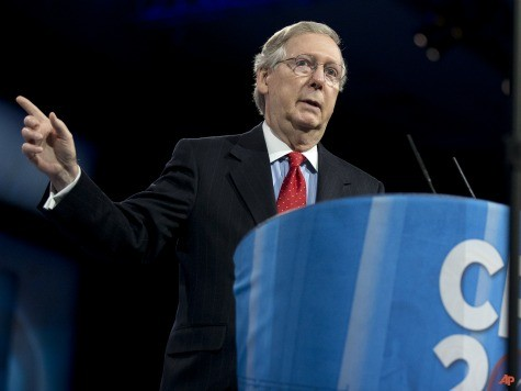 Mitch McConnell Joins Filibuster Against Gun Control