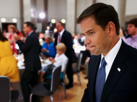 Reports: Tea Partiers Heckle Rubio over Amnesty in Orlando