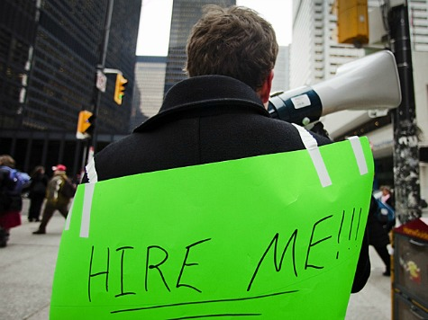 Long-Term Unemployment Remains At Historic High