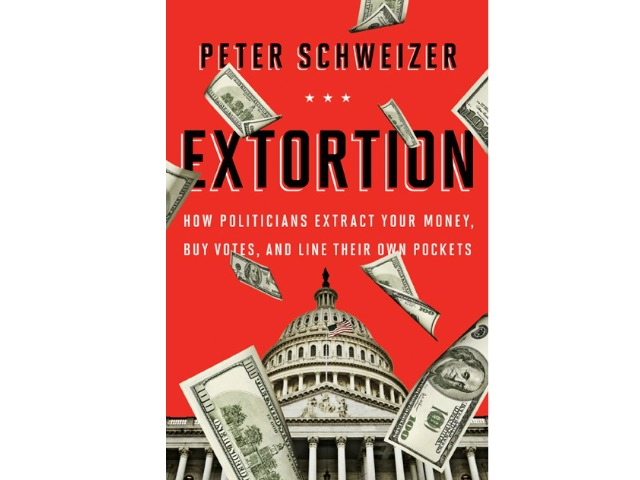 10 PM EDT on Fox News: Peter Schweizer to Discuss 'Extortion' on 'Hannity'