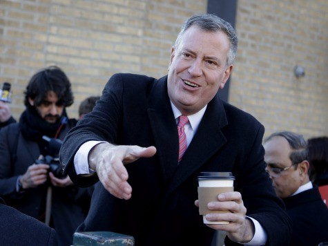 Breaking News from the New York Times: Bill De Blasio Is Tall