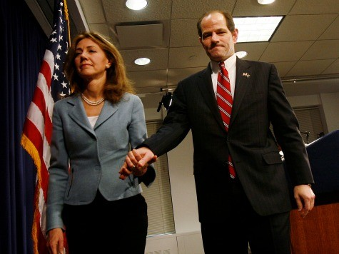 New York Post Claims Eliot Spitzer's Wife Wants Divorce After Election