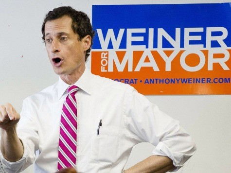 Weiner Won't Shrink Away After Mayoral Loss