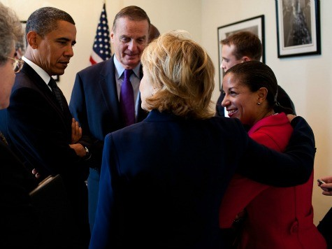 Susan Rice Honored With 'Great American' Award Night Before Benghazi Hearing