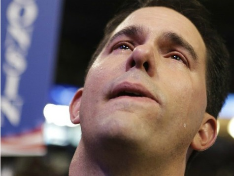 Scott Walker Hung Out to Dry?