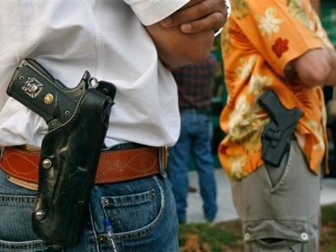 Anti-Gun Group Freaks Out as Texas Considers Becoming 45th Open Carry State