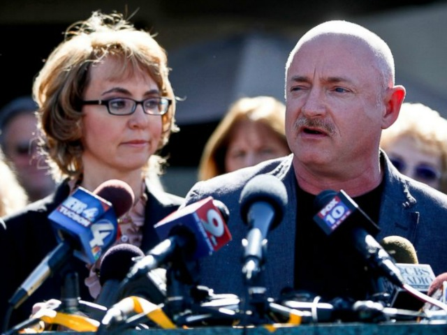 Mark Kelly: Gun Control Is 'Never Going to Stop' All Gun Violence