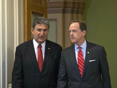 Toomey, Manchin Consider 'Change' to Troubled Gun Bill