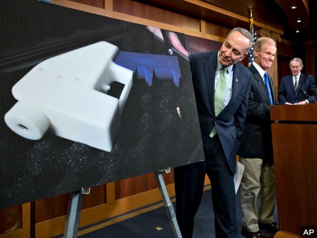 Chuck Schumer Pushes Tougher Ban on Plastic Guns