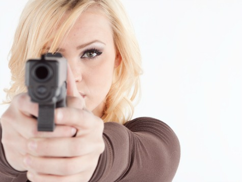 Lone Armed Woman Corners Home Invader: 'I'll Blow Your 'Bleeping' Head Off'