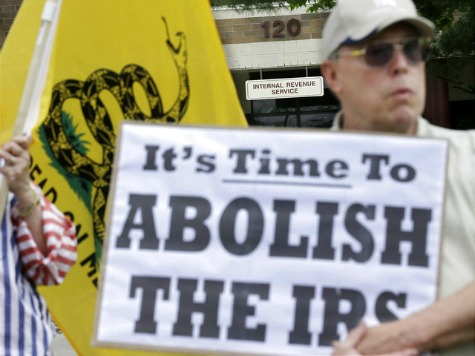 Documents: IRS Targeted Tea Party Groups with 'Anti-Obama' Materials