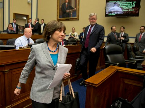 House Votes to Hold Lois Lerner in Contempt