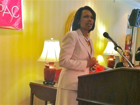 Report: Condi Rice Pushes for Amnesty in Speech to GOP