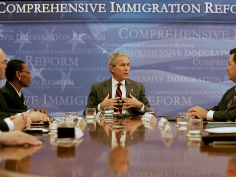 Bush Promotes Benefits of Immigration Reform