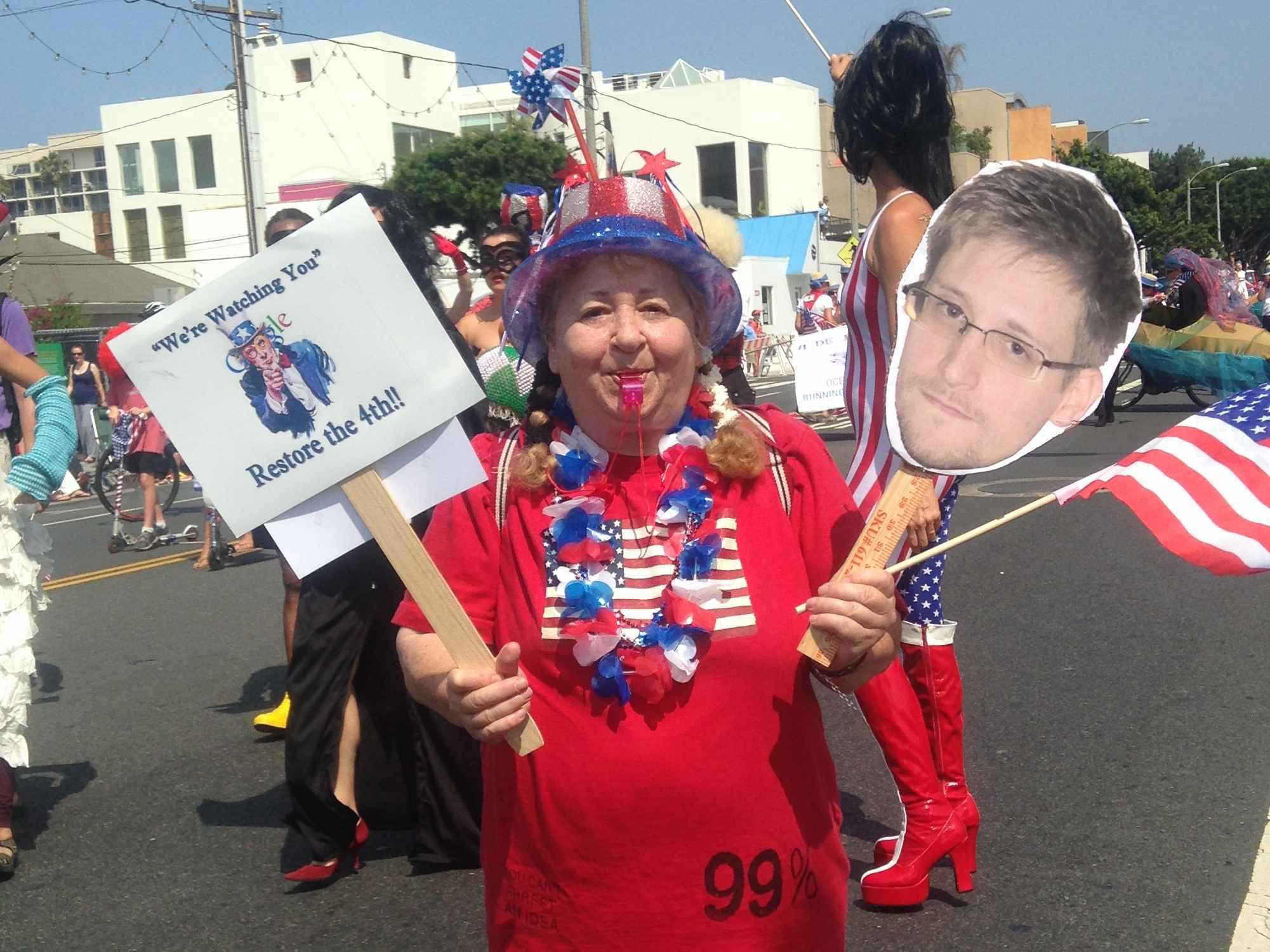 Amash: Snowden 'Whistle-Blower'; Hayden: Snowden Made America Less Safe