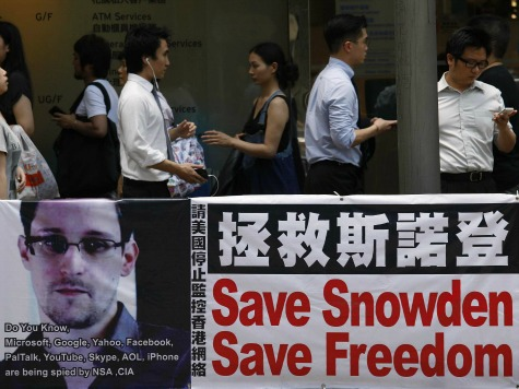 Snowden Among Finalists for EU Human Rights Prize