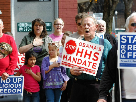 Poll: All-Time High Oppose ObamaCare Individual Mandate