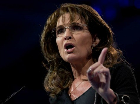 Palin Warns House GOP: Don't Betray Working Class by Passing Amnesty